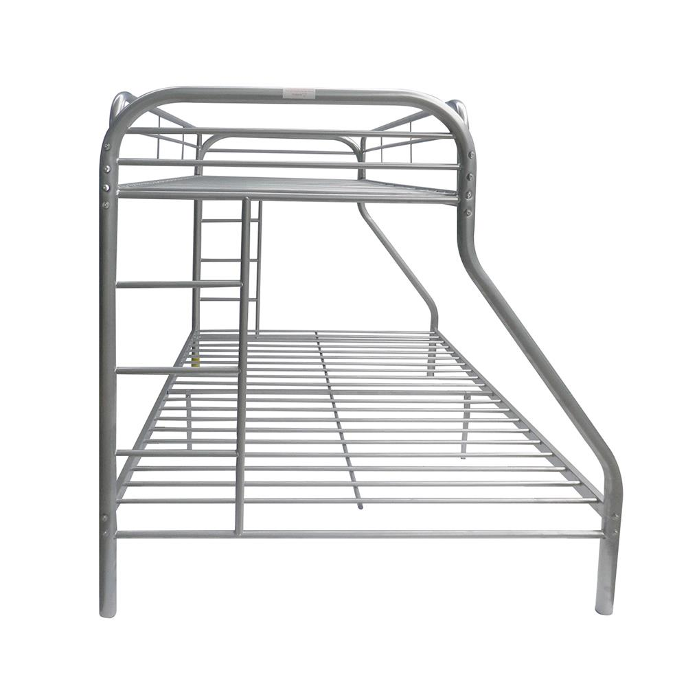 Silver Twin XL/Queen Bunk Bed Side