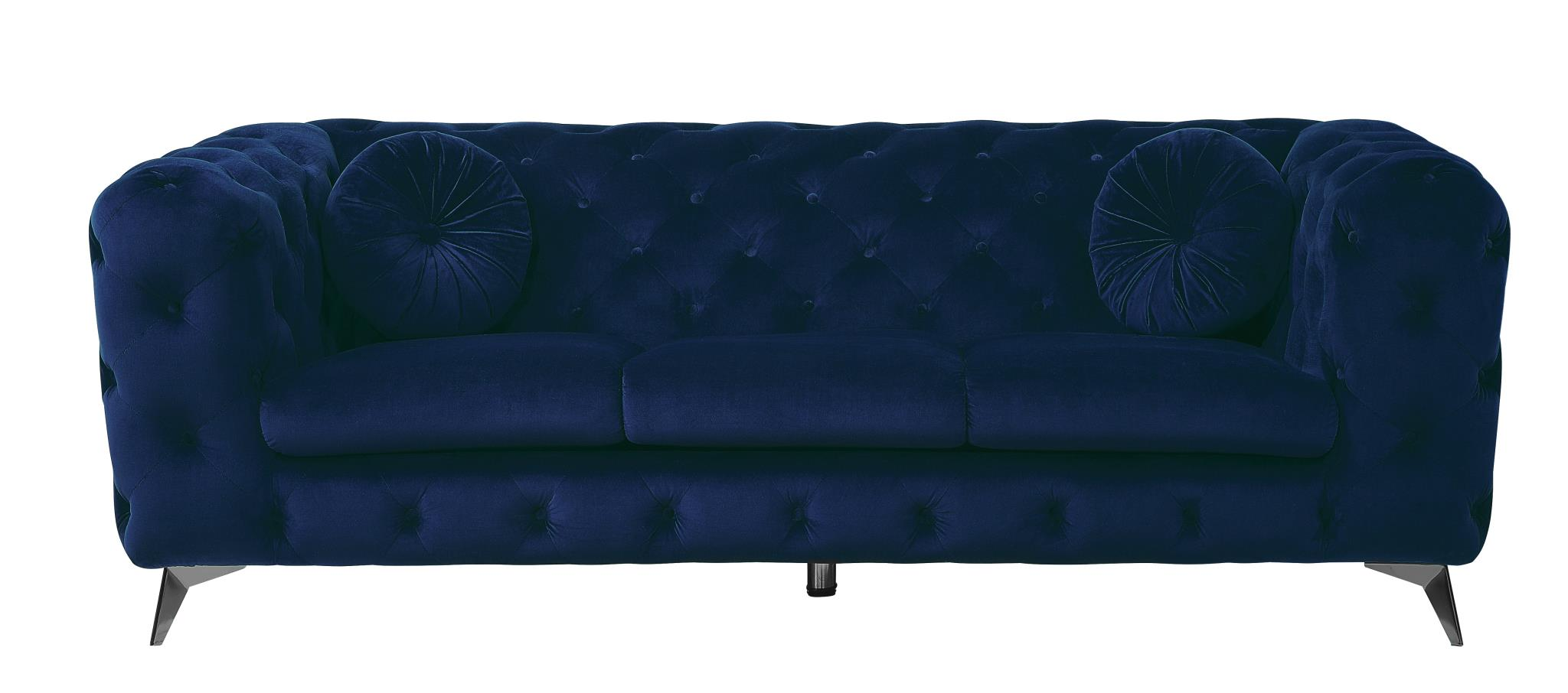 Blue Sofa Front