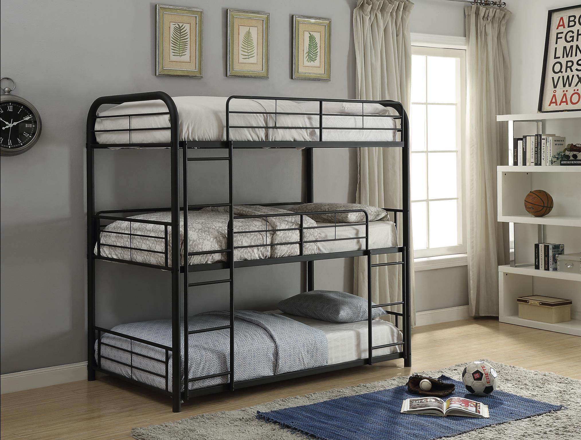 Three Layer Bunk Bed