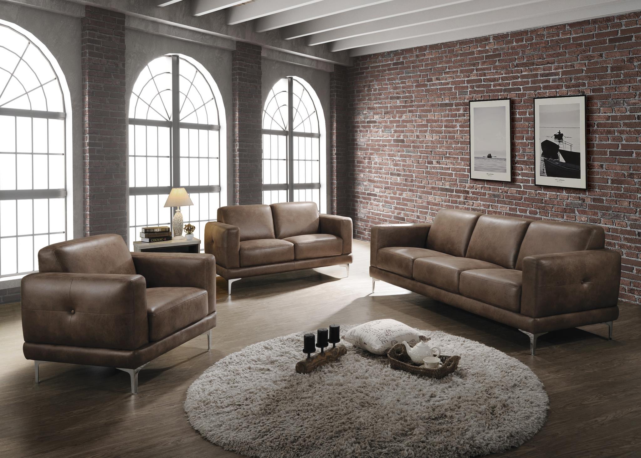 Mocha Complete Sofa Set