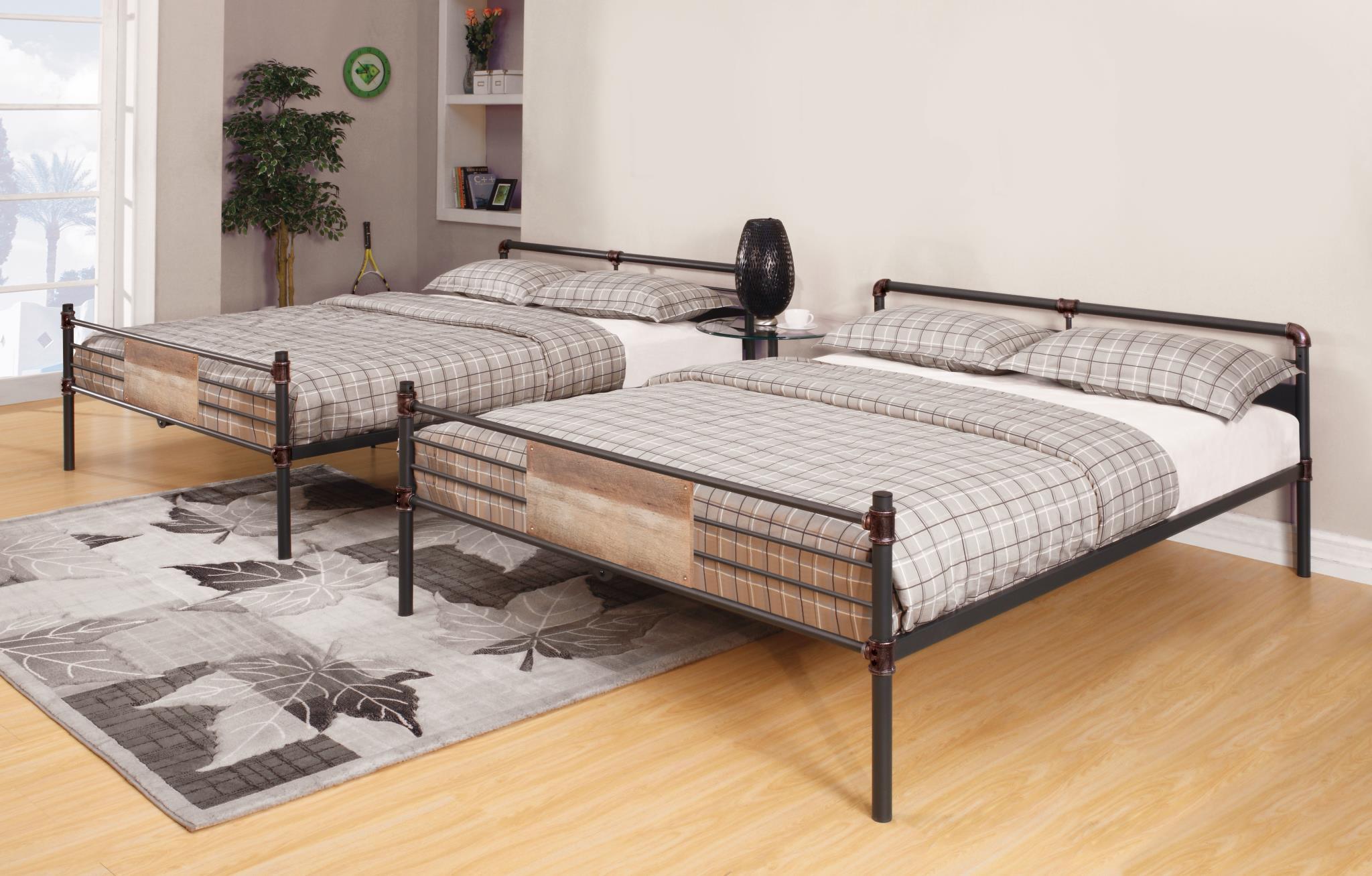 Queen/Queen Bunk Beds Used Separately
