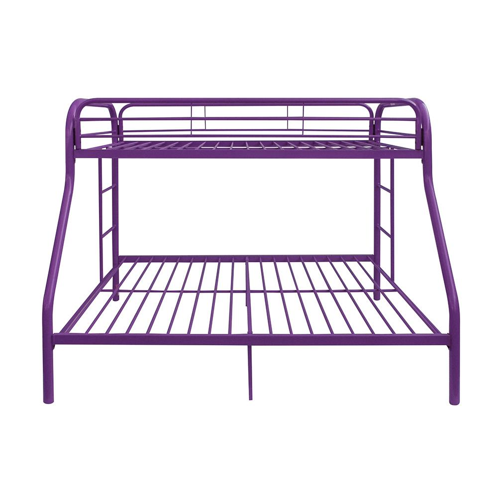 Purple Twin/Full Bunk Bed Front