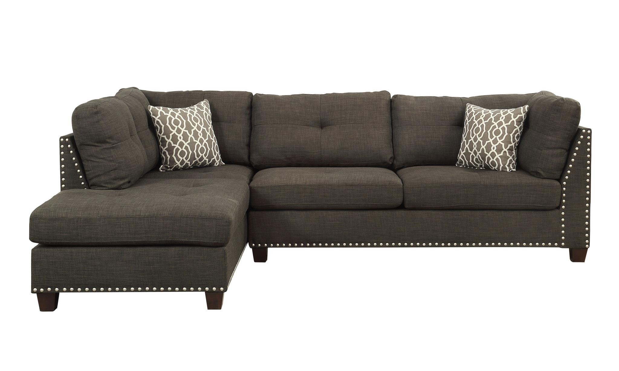 Sectional Sofa w/ Left Facing Chaise Front