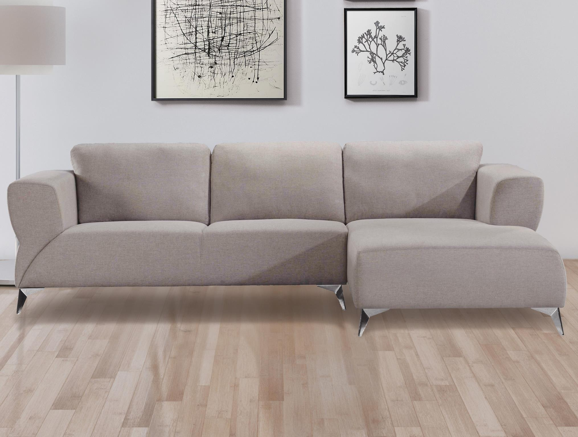 Sand Complete Sectional Sofa