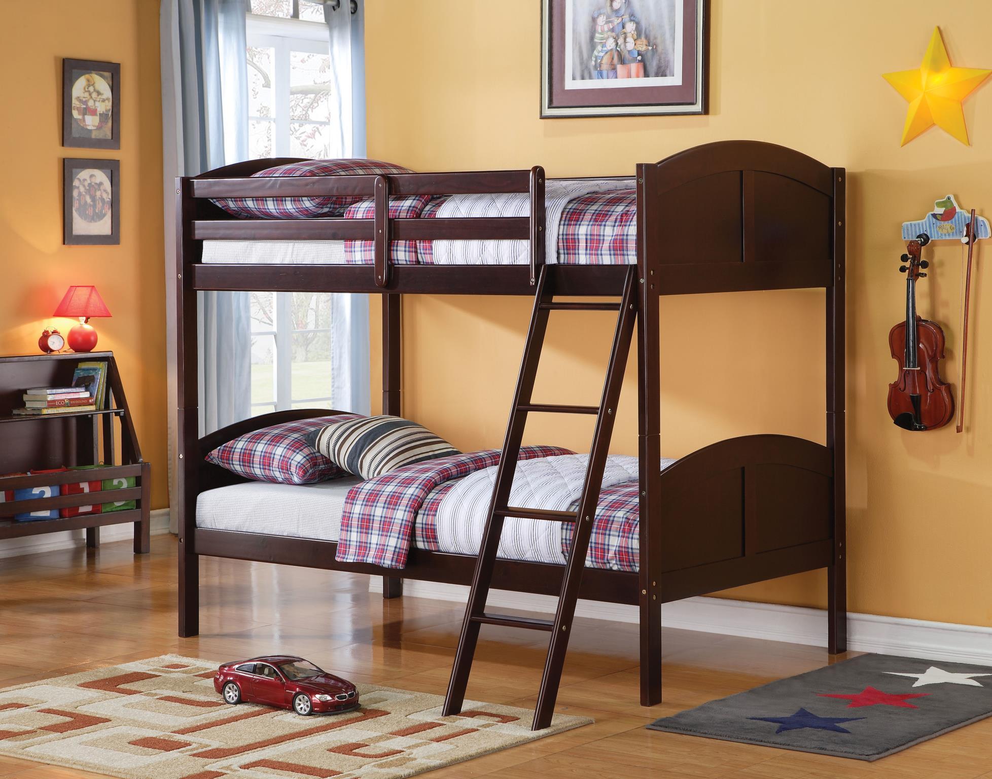 Espresso Twin/Twin Bunk Bed