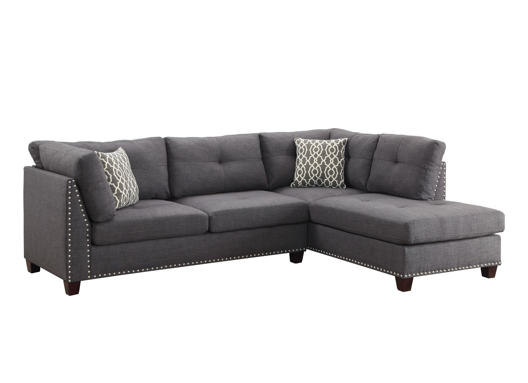 Sectional Sofa w/ Right Facing Chaise Angle