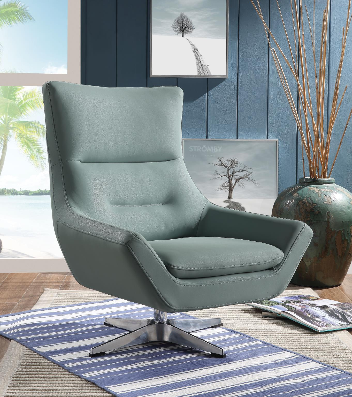 Gray Stone Accent Chair