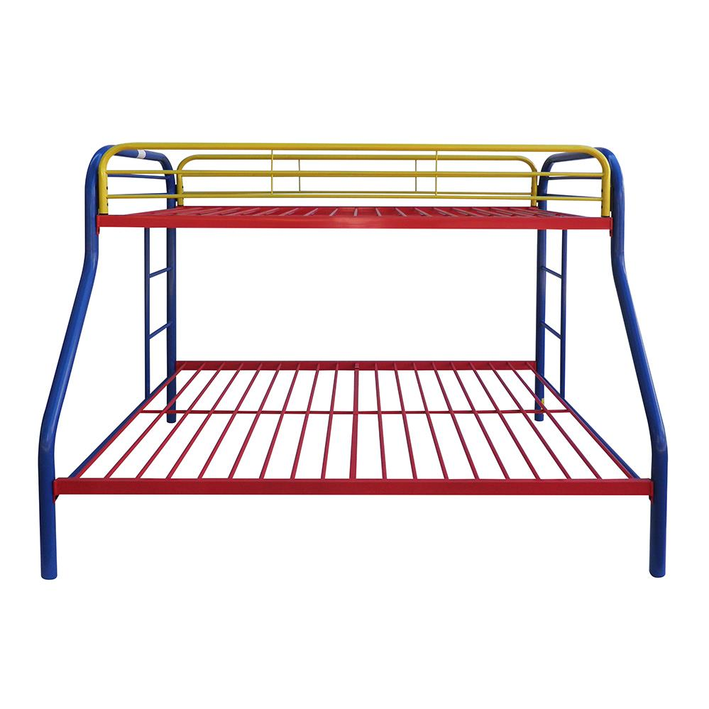 Rainbow Twin/Full Bunk Bed Front