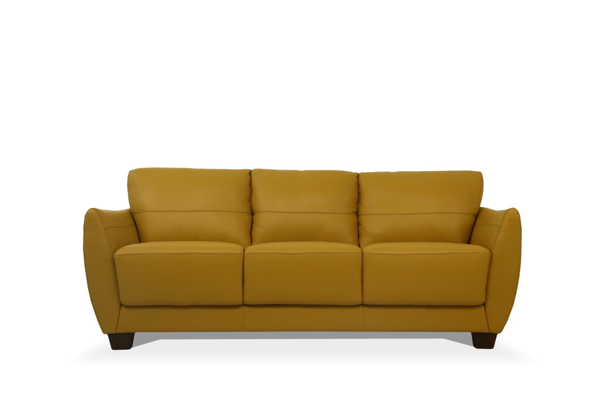 Mustard Sofa Front