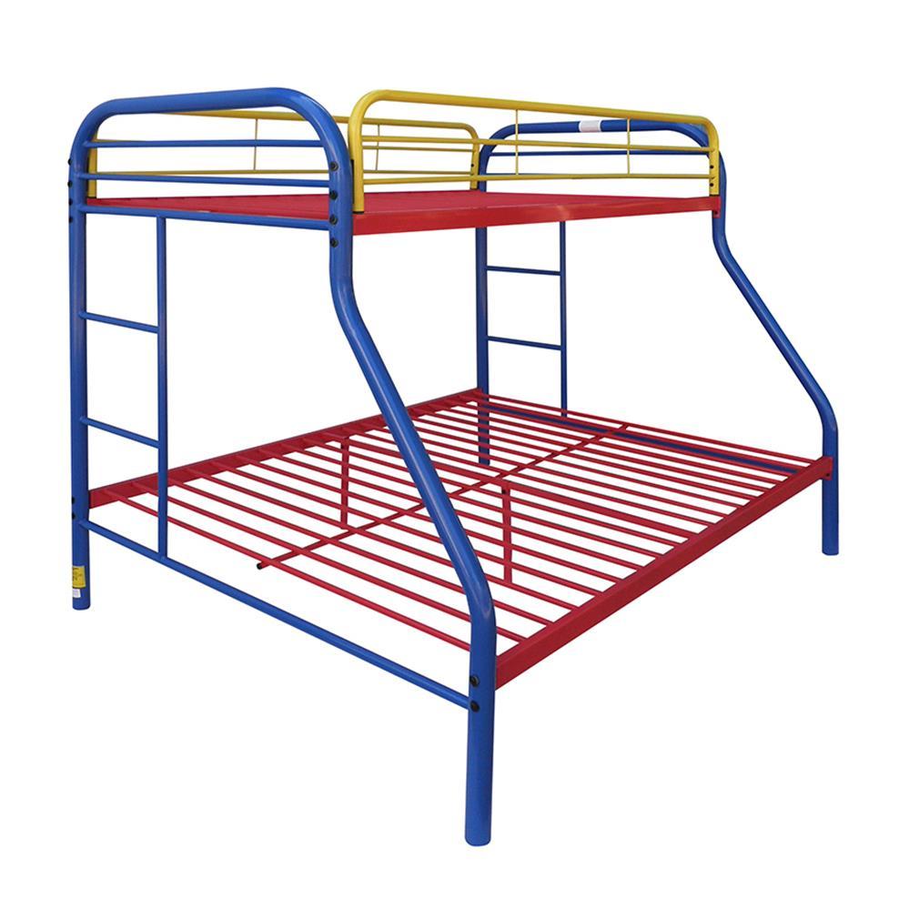 Rainbow Twin/Full Bunk Bed