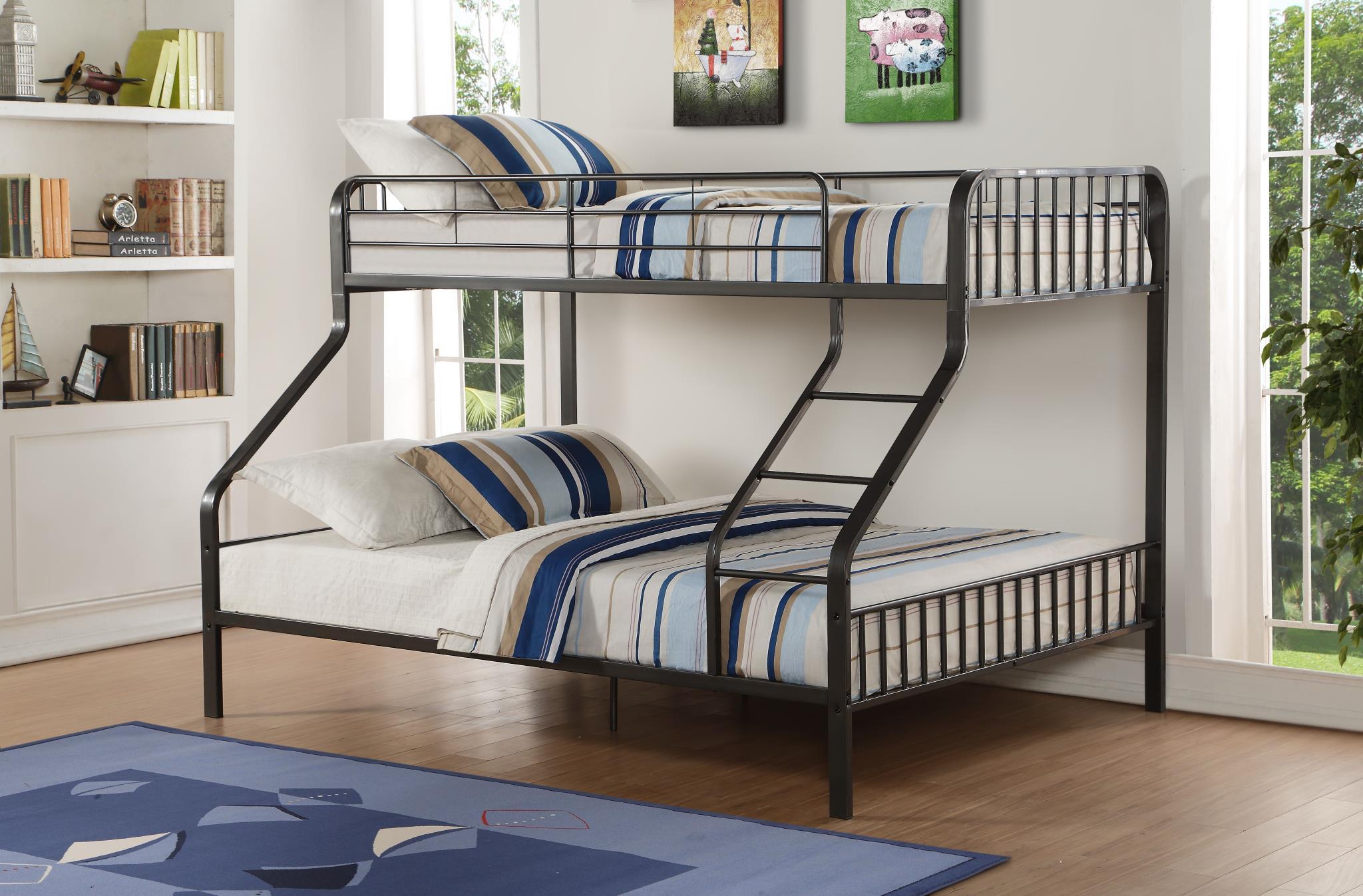 Twin XL/Queen Bunk Bed