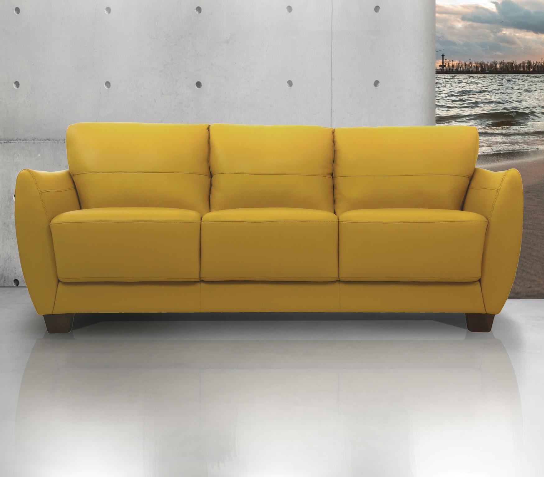 Mustard Complete Sofa Set