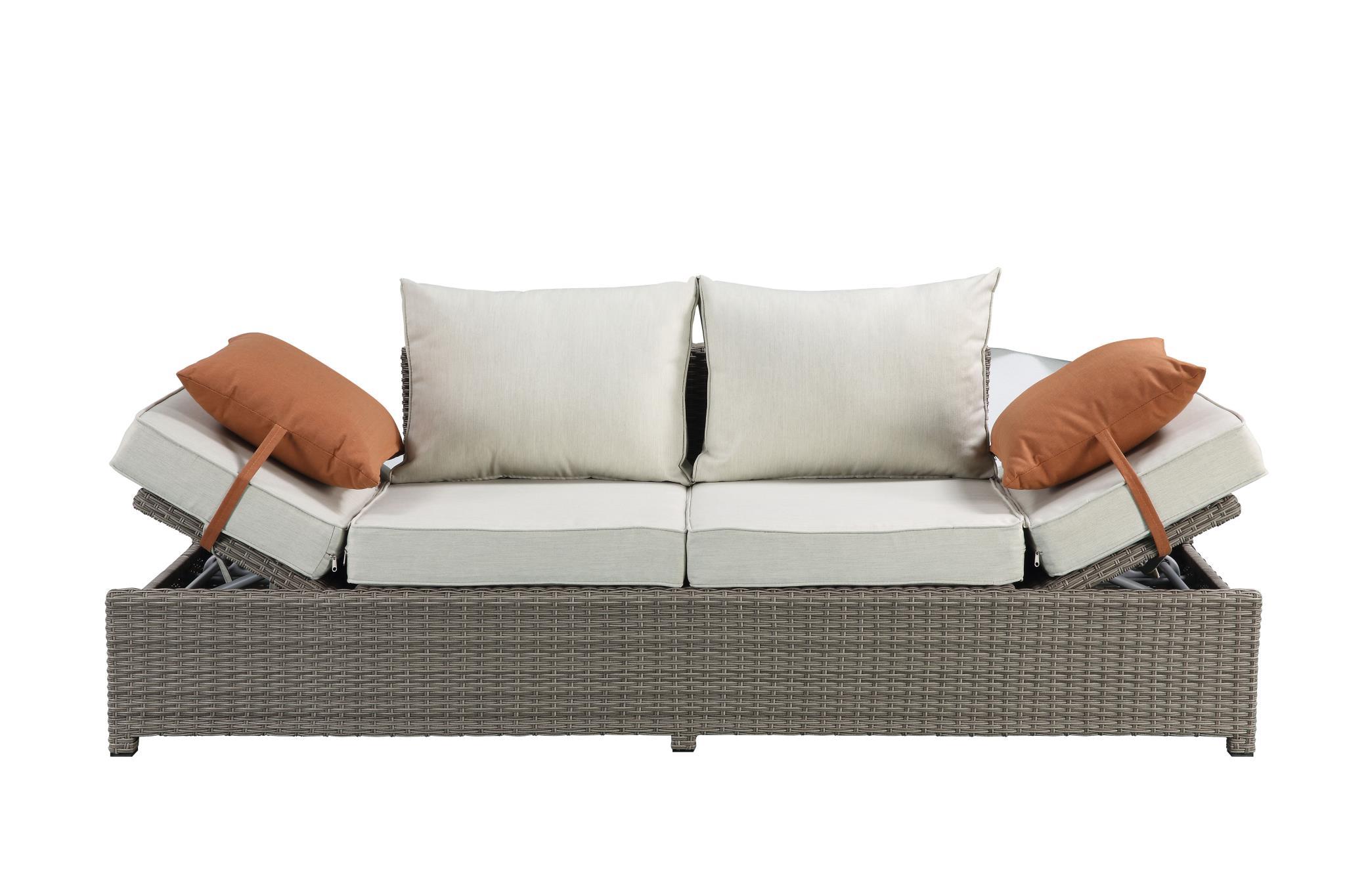 Sofa w/ Lift Top Armrests