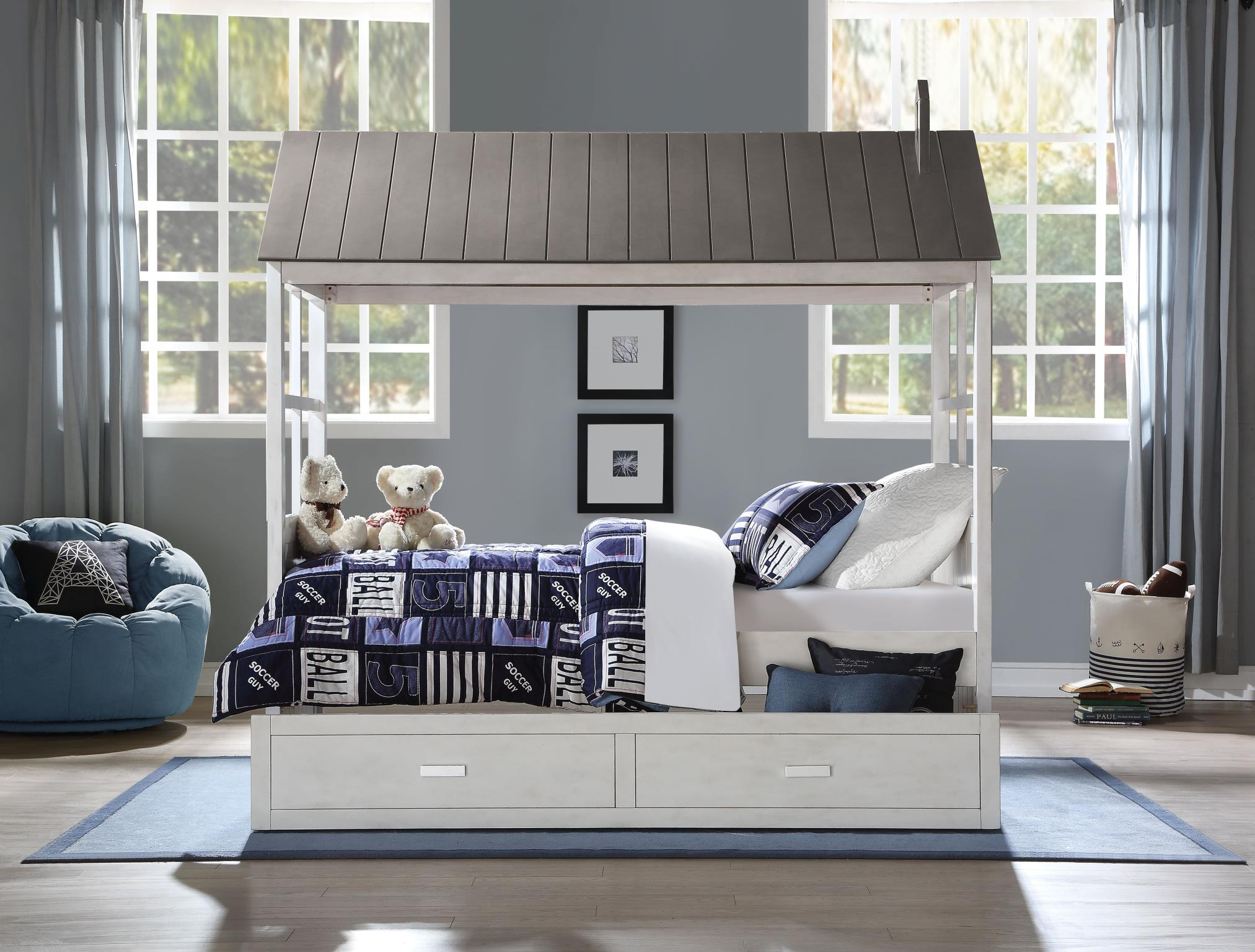 Complete Twin Bed w/ Trundle