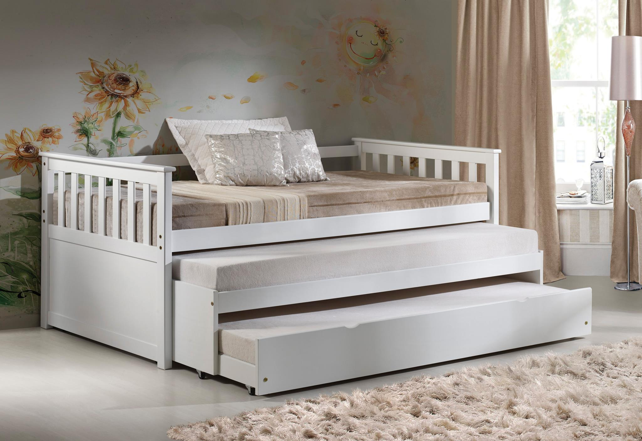 Complete Daybed with Pull Out Bed and Trundle