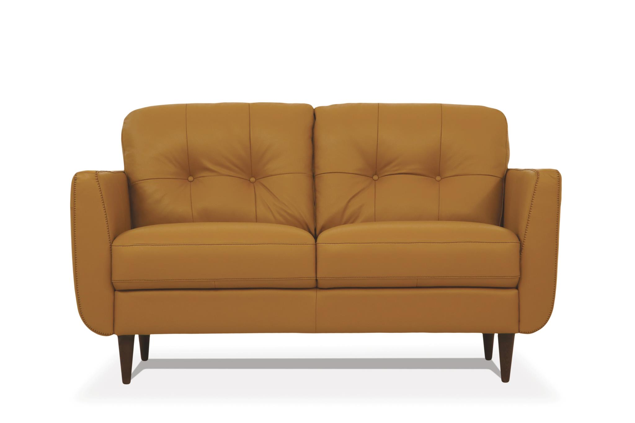 Camel Loveseat Front