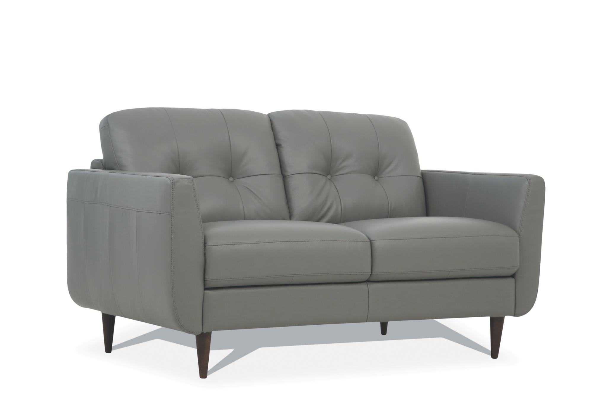 Pesto Green Loveseat