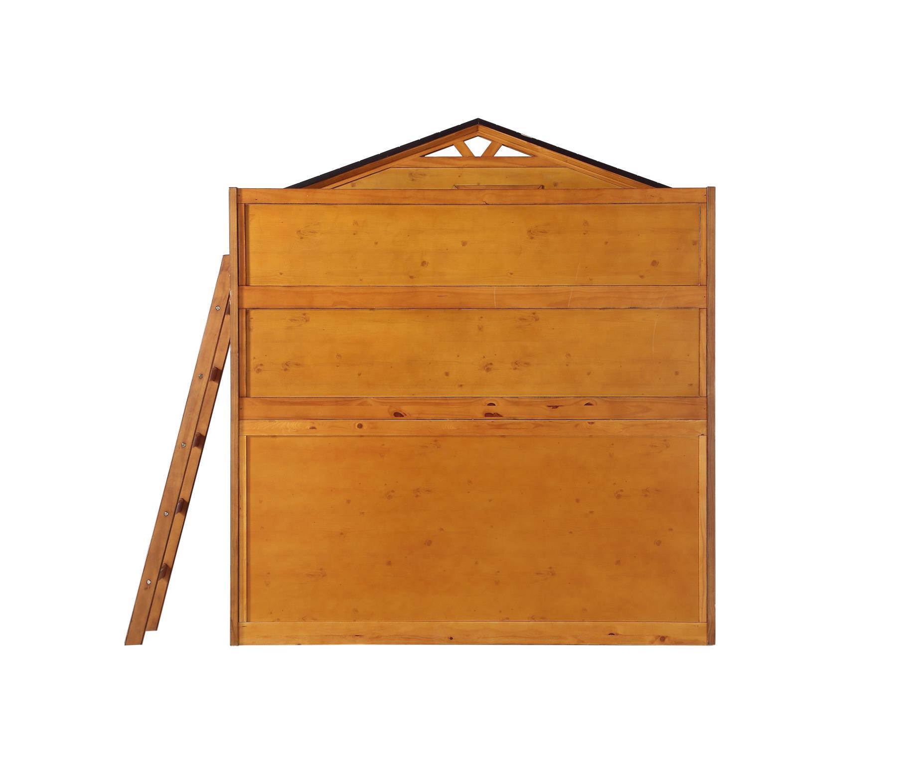 Treehouse Loft Bunk Bed Back