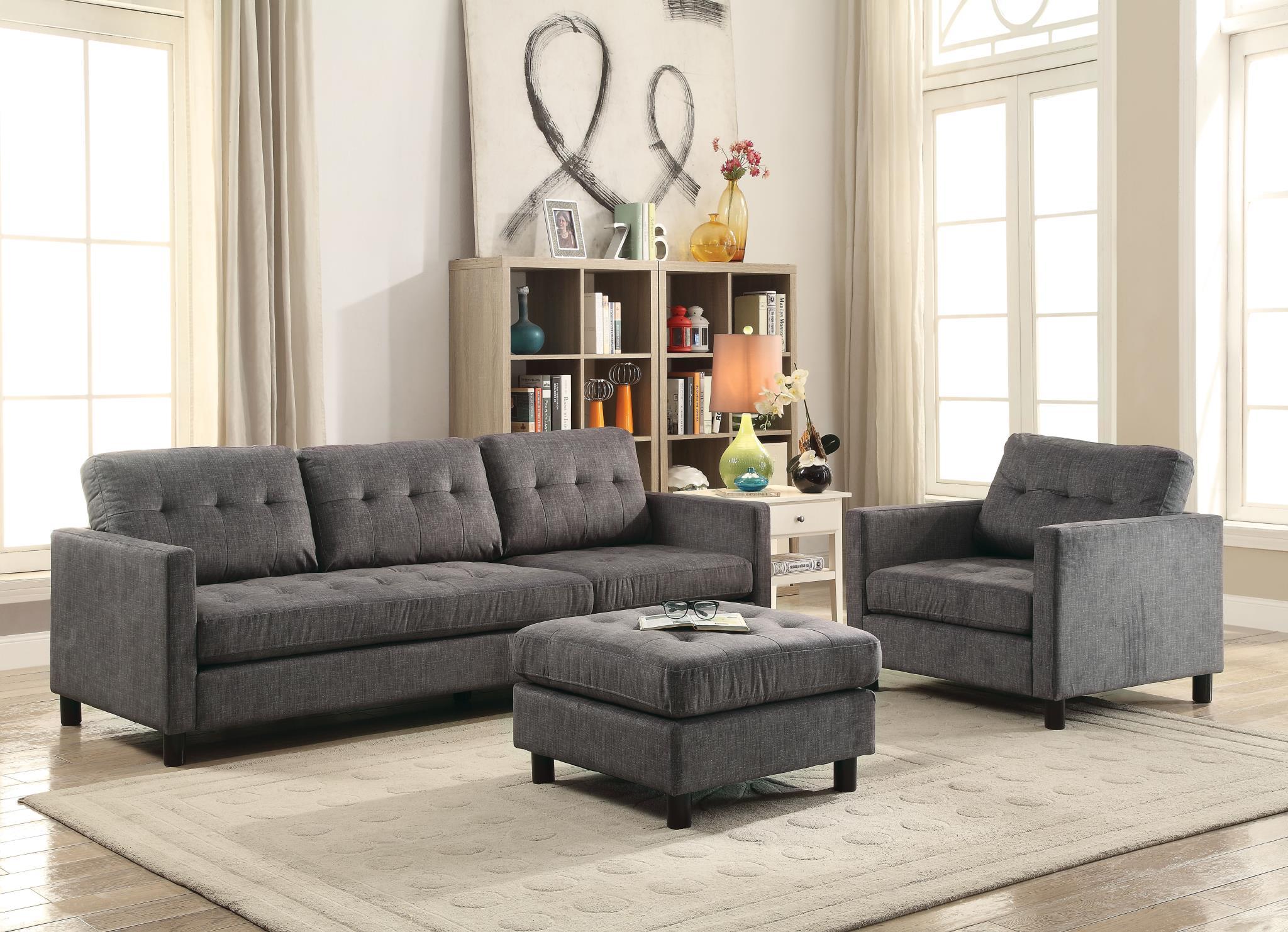 Sofa w/ Chair and Ottoman