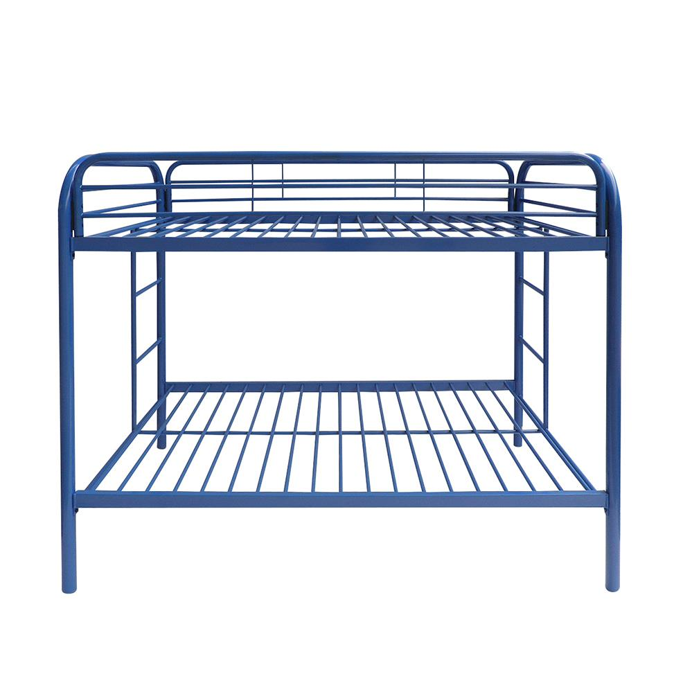 Blue Twin/Twin Bunk Bed Front