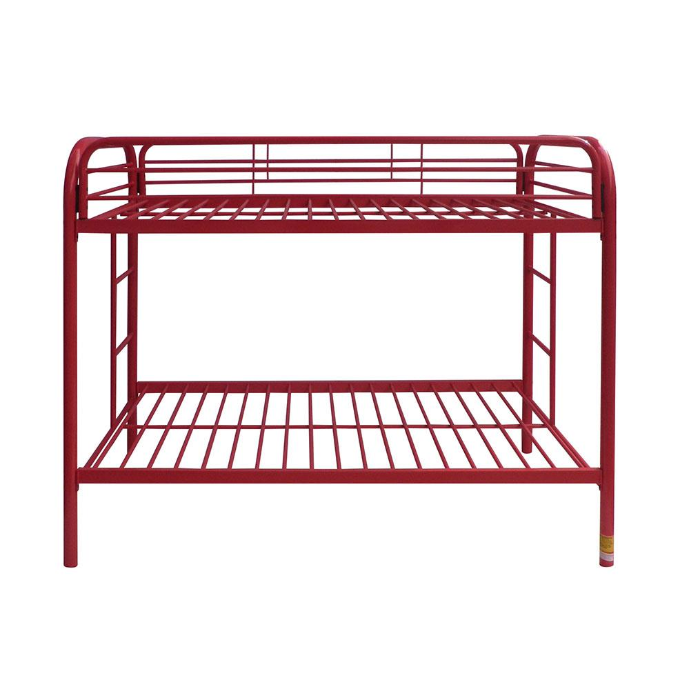 Red Twin/Twin Bunk Bed Front