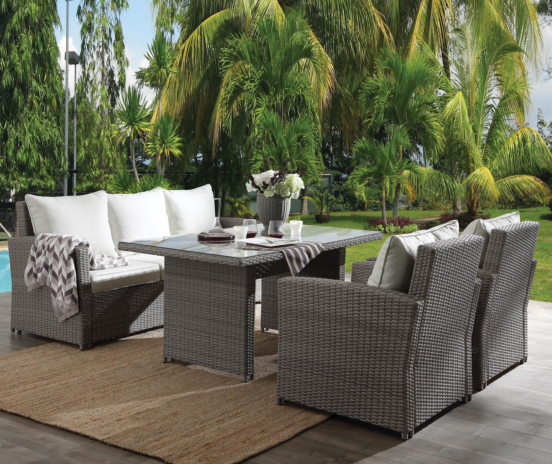 Complete 4 Piece Patio Set