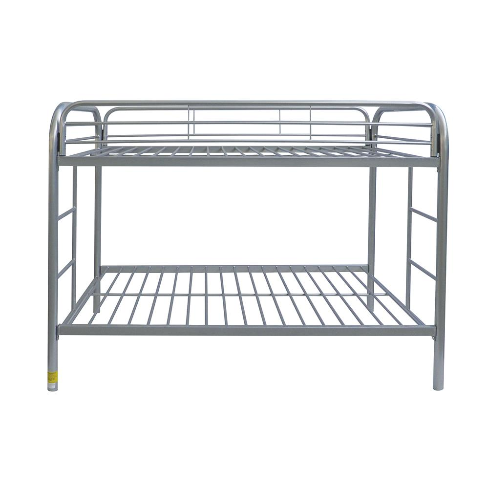 Silver Twin/Twin Bunk Bed Front