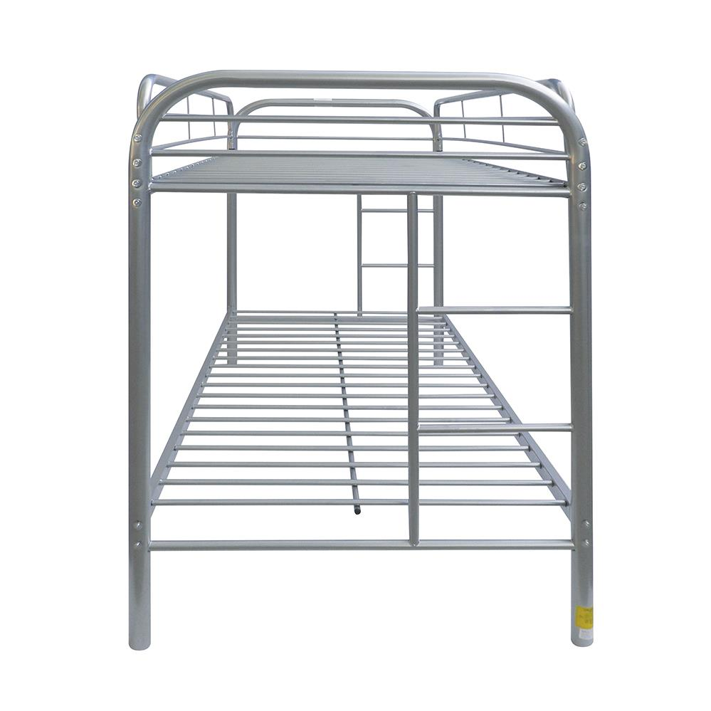 Silver Twin/Twin Bunk Bed Side
