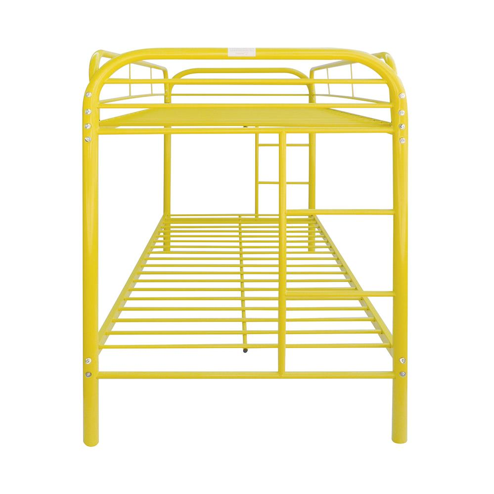 Yellow Twin/Twin Bunk Bed Side