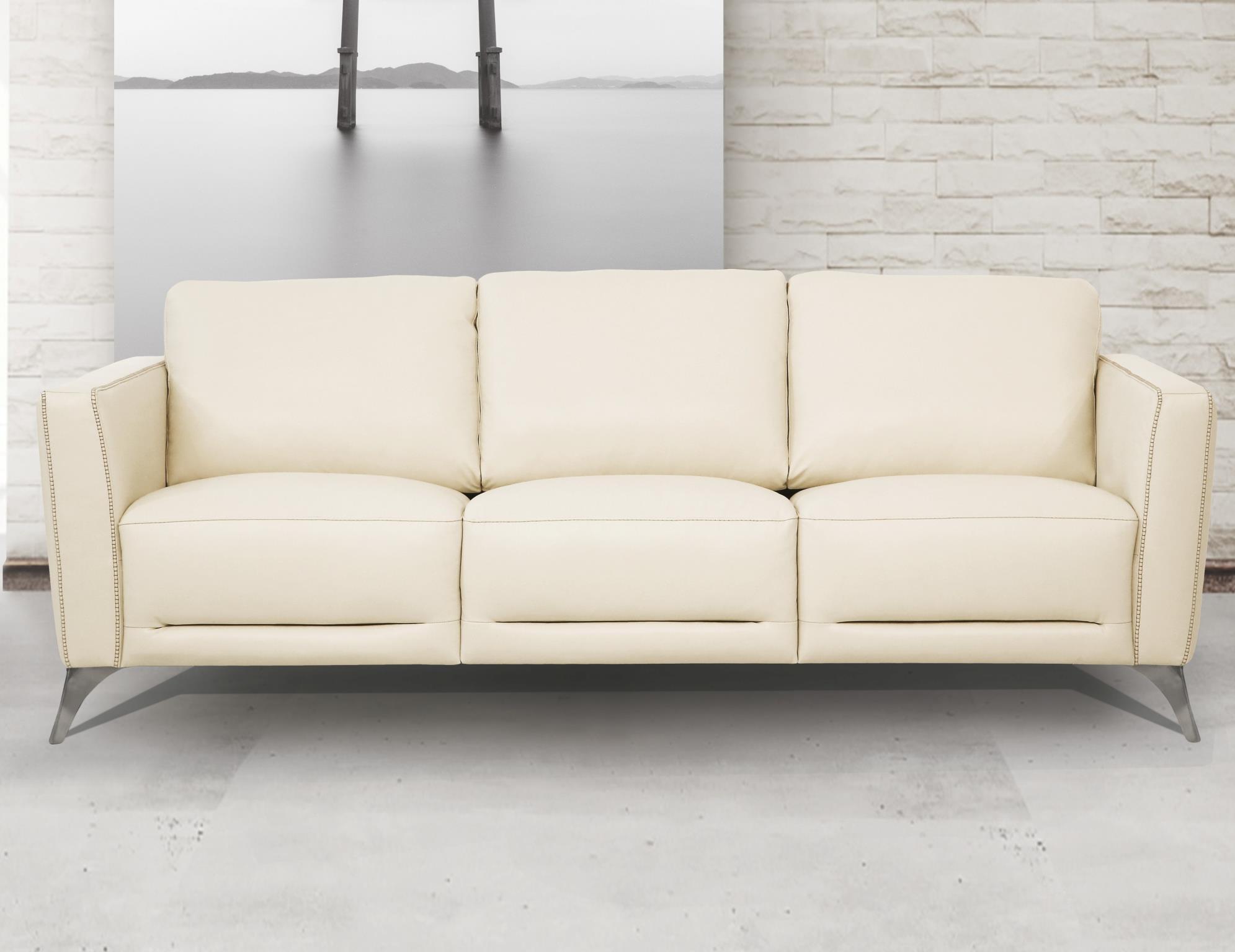 Cream Complete Sofa Set