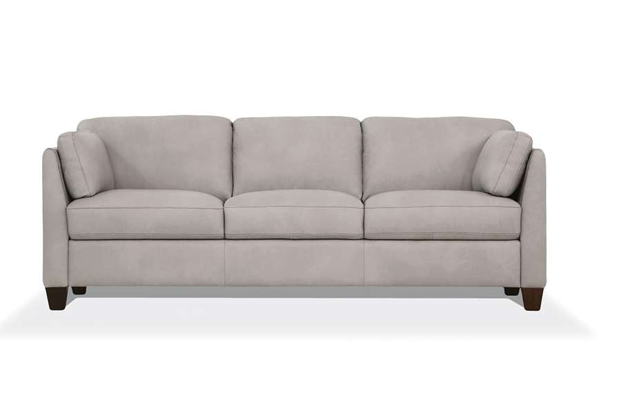 Dusty White Sofa Front