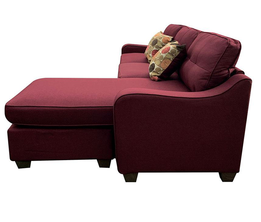 Sectional Sofa w/ Ottoman as Right Facing Chaise Side