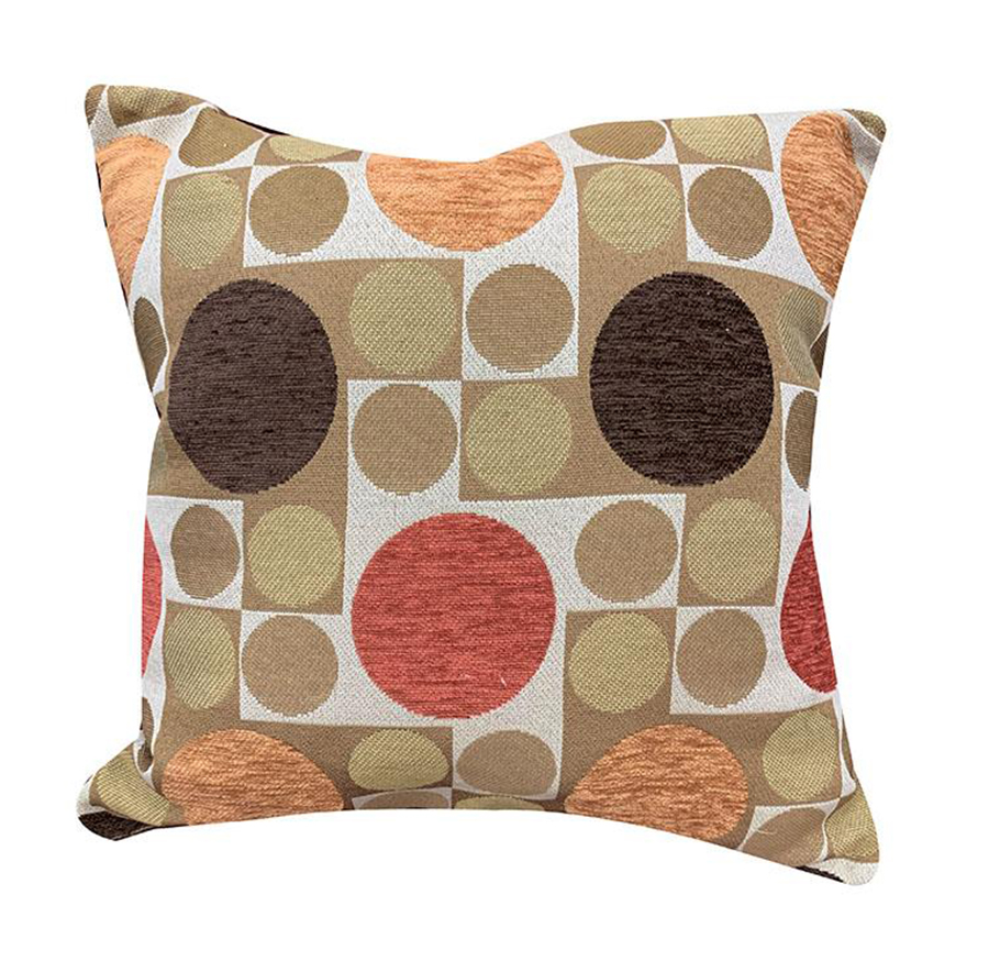 Reversible Accent Pillow Pattern Side