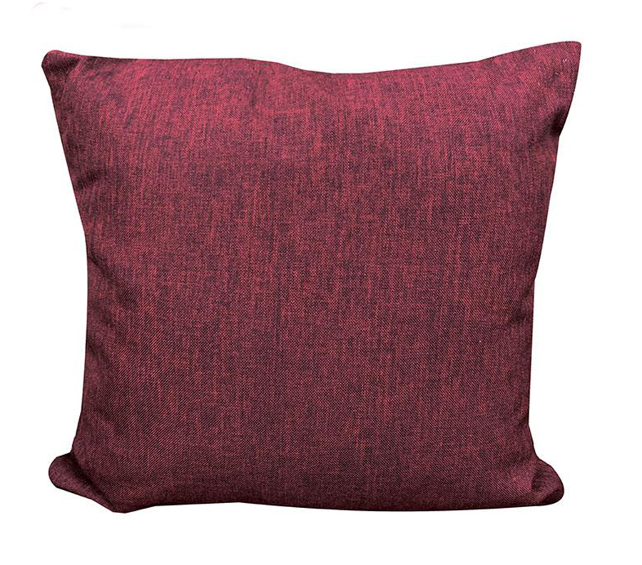 Reversible Accent Pillow Red Side