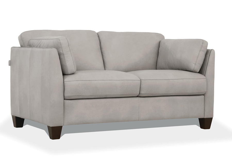 Dusty White Loveseat