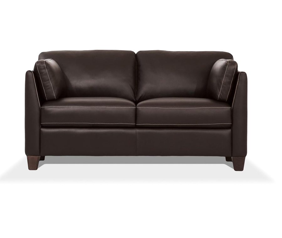 Chocolate Loveseat Front