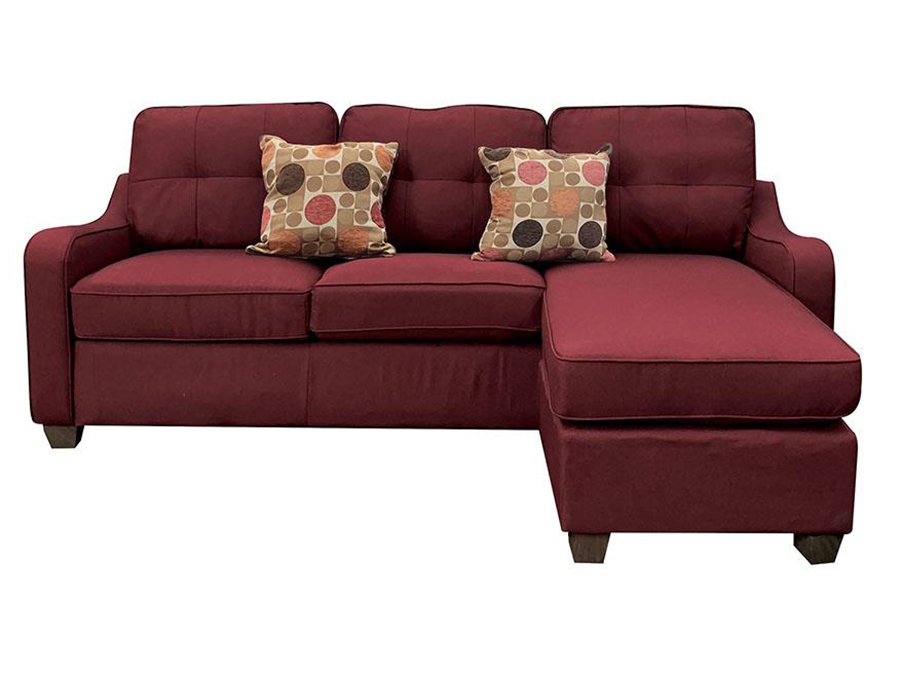 Sectional Sofa w/ Ottoman as Right Facing Chaise Front