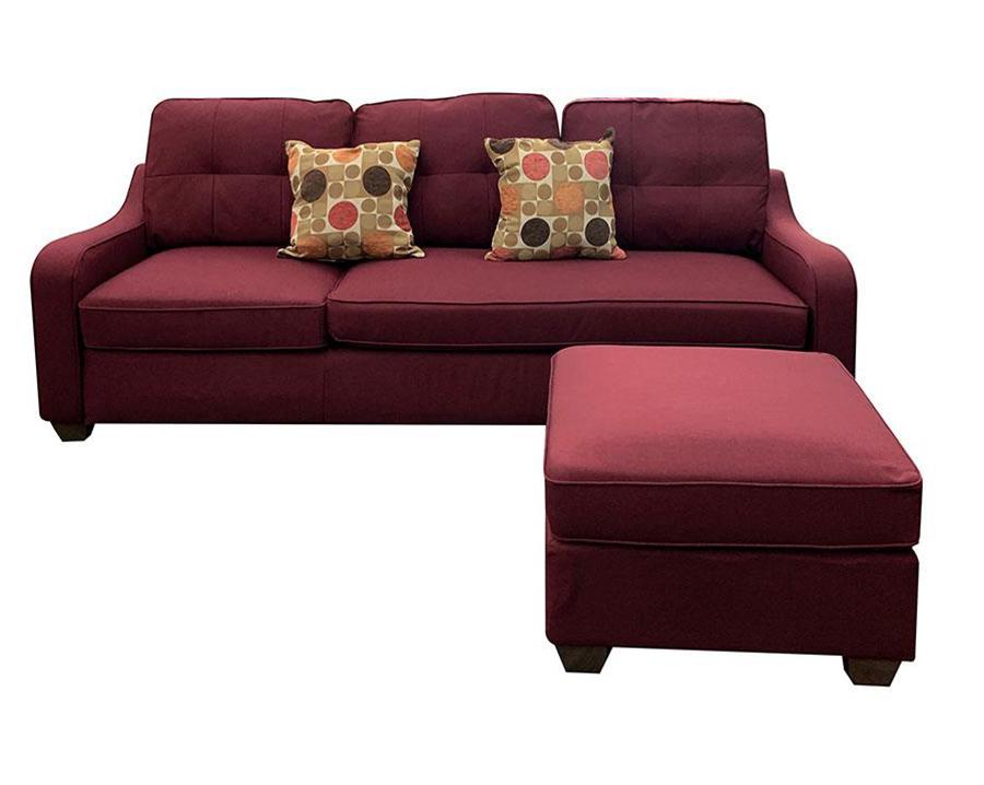 Sofa w/ Ottoman Front