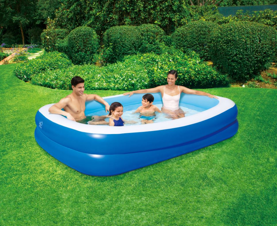 Inflatable Rectangular Family Pool