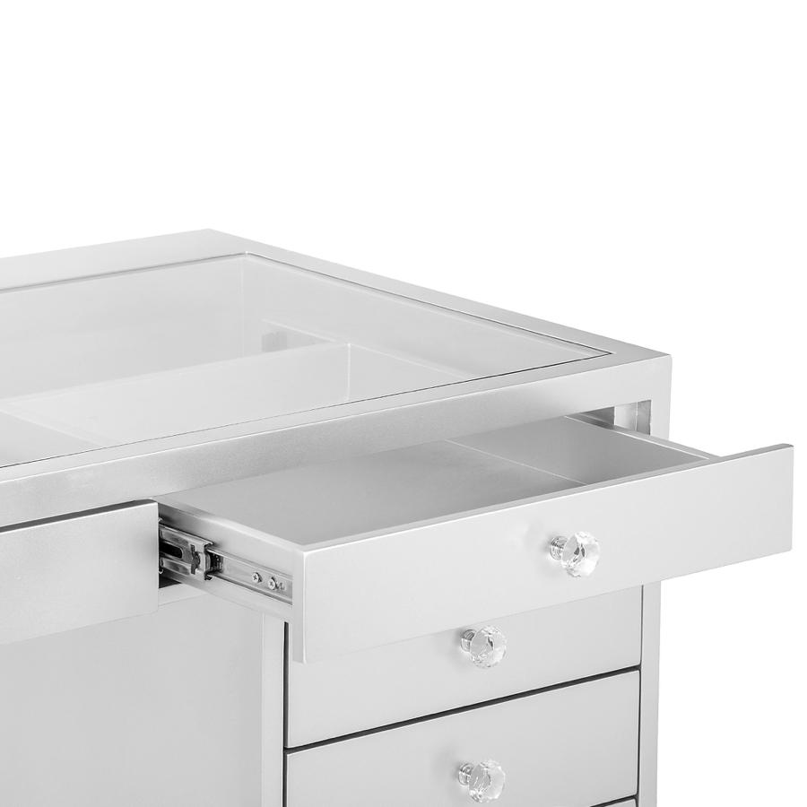 Vanity Table Opened Drawers