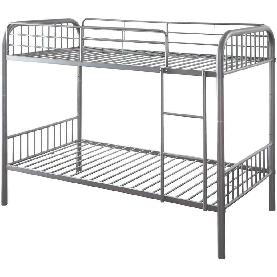 Gun Metal Twin/Twin Bunk Bed Frame