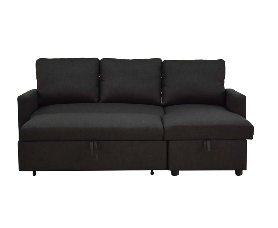 Sectional Sleeper Sofa w/ Pull Out Bed Front