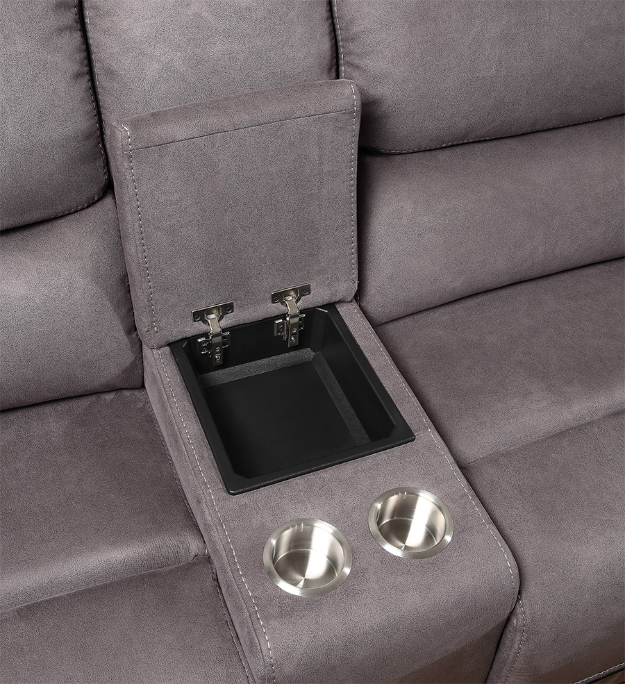 Console w/ Cup Holders and Storage