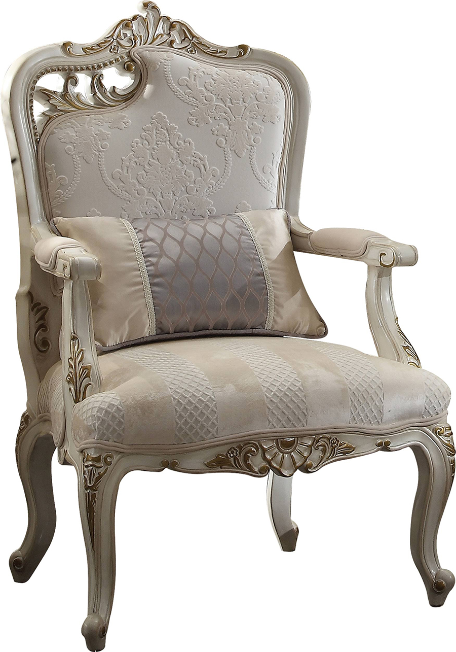 Left Facing Leaf Cut Out Chair