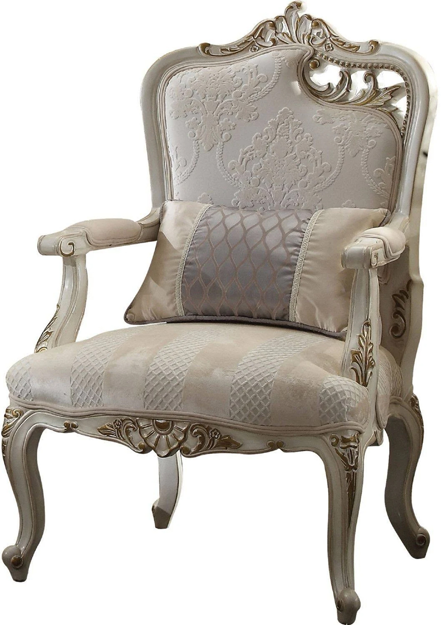 Right Facing Leaf Cut Out Chair