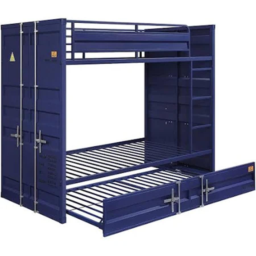 Blue Bunk Bed Frame