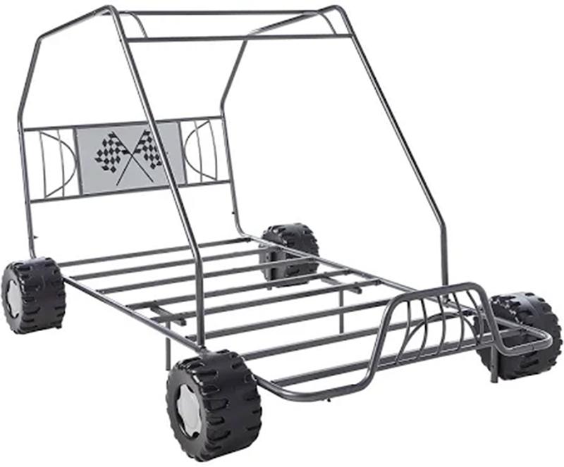 Gunmetal Go Kart Themed Bed Frame