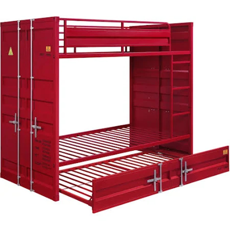 Red Bunk Bed Frame