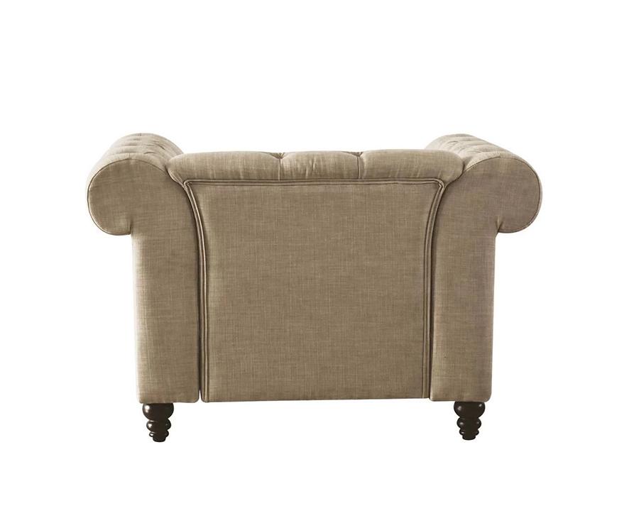 Beige Chair Back