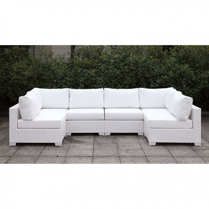 Complete Patio U-Sectional Sofa Set
